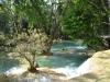 Die Tat Kuang Si-Wasserfälle in der Nähe von Luang Prabang