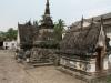 Der größte Tempel Luang Prabangs, der Wat Mai-Tempel, der sich durch seine reichen Verzierungen auszeichnet