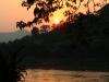 Sonnenuntergang am Mekong, Luang Prabang