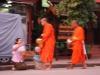 Die allmorgendliche Mönchsprozession