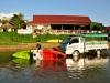 Outdoor-Paradies Vang Vieng - Kajaken auf dem Mekong