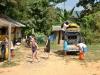 Beim Tubing Pub Crawl auf dem Mekong in Vang Vieng