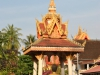 Der Wat Si Saket-Tempel in Vientiane