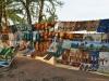 Am Ufer des Mekong in Vientiane