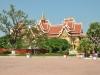 Blick auf Pha That Luang