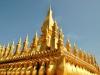 Die goldene Stupa Pha That Luang