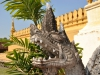 Pha That Luang, das Nationalsymbol von Laos