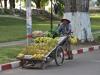 Bananenverkäufer in Vientiane