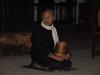 Luang Prabang - Warten auf die morgendliche Mönchsprozession