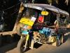 Tuk Tuks - zentrales Fortbewegungsmittel in Laos