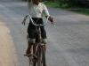 Ein laotisches Mädchen