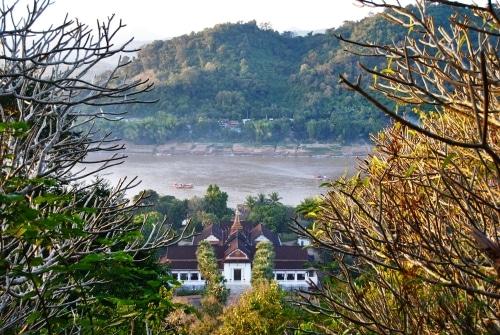 Blick von Phu Si auf Luang Prabang