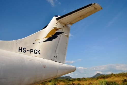 Um Zeit zu sparen, bietet es sich an, weite Strecken per Flugzeug zurückzulegen