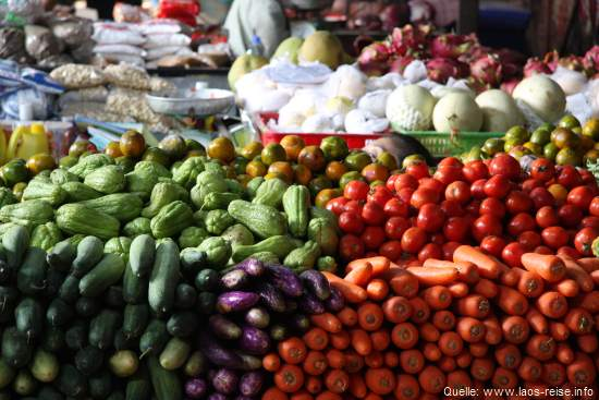 Die Küche von Laos