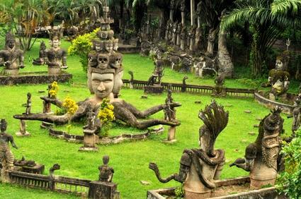 Buddha Statuen Park in Vientiane