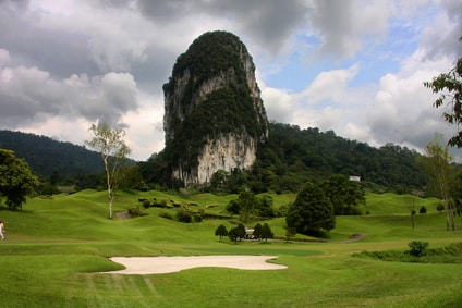 Golf in Laos