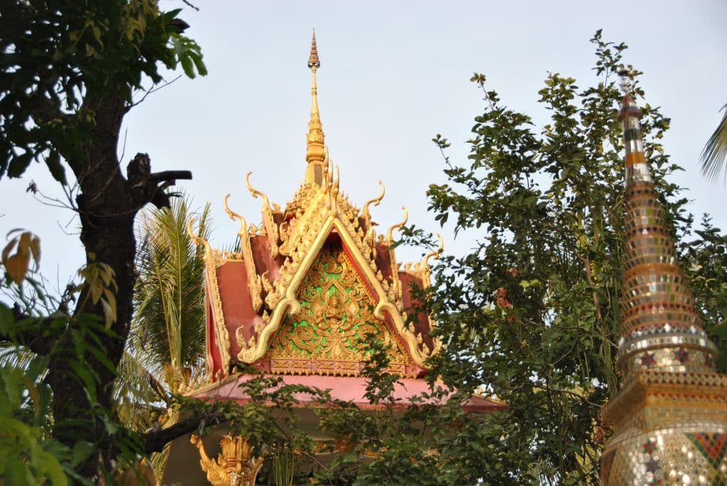 Der Pha That Luang-Tempel in Vientiane