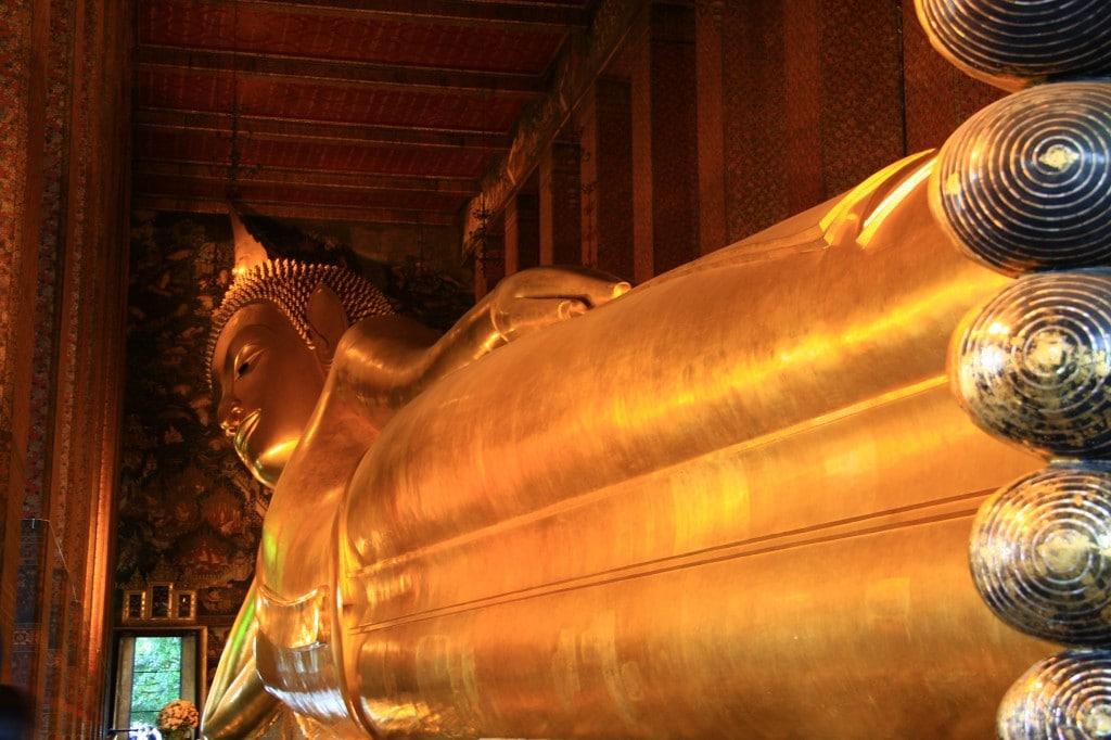Der liegende Buddha in Bangkok