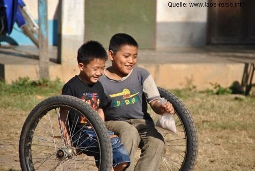 Alltagsimpressionen in Laos