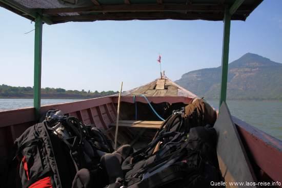 Laos: Unterwegs auf dem Mekong